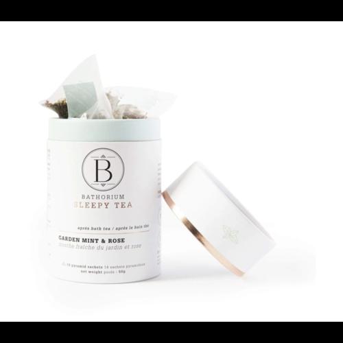 Bathorium Apres Bath Sleepy Tea Garden Mint + Rose