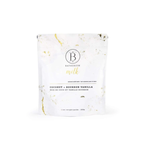 Bathorium Milk Coconut + Vanilla Mineral Bath Soak