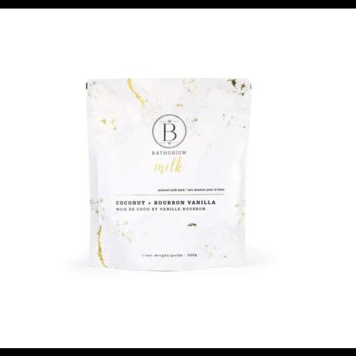 Bathorium Milk Coconut + Vanilla Mineral Bath Soak