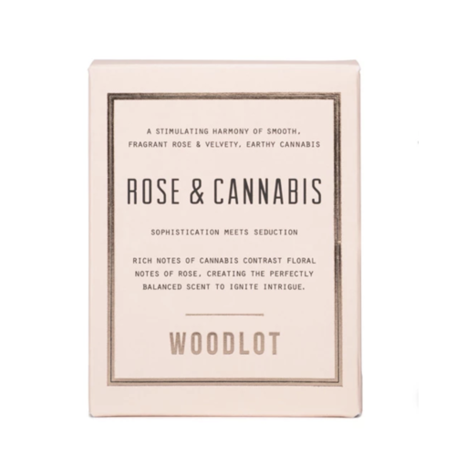 Woodlot Rose & Cannabis Candle