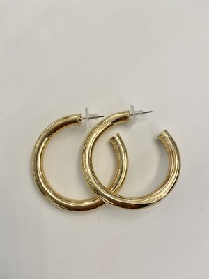 Atelier SYP Vintage Hollow Hoops (large)