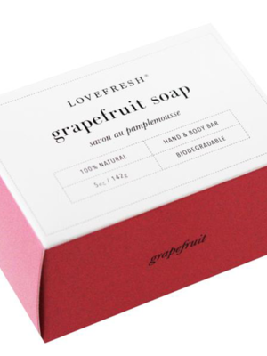 LoveFresh LoveFresh Grapefruit Soap