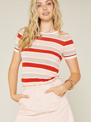 Sadie & Sage Spirit Stripe Sweater