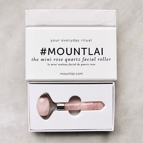 Mount Lai Mini Rose Quartz Roller