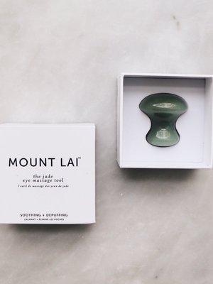 Mount Lai Jade Eye Massage Tool