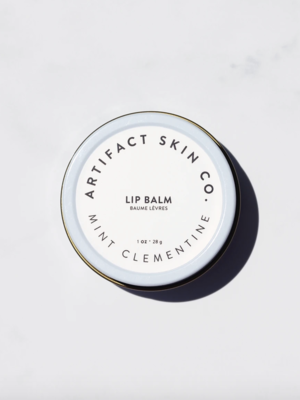 Artifact Skin Co. Mint Clementine Lip Balm