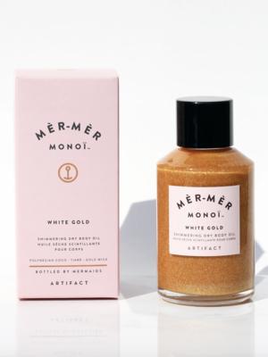 Artifact Skin Co. Mèr-Mèr Monoï White Gold Shimmering Dry Body Oil - 60ml