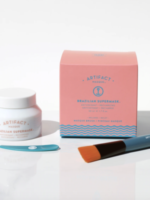 Artifact Skin Co. Brazilian Supermask Masque + Brush Kit