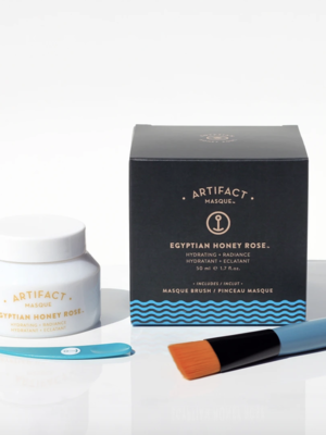 Artifact Skin Co. Egyptian Honey Rose Masque + Brush Kit