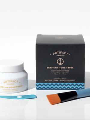 Artifact Skin Co. Egyptian Honey Rose Masque + Brush Kit