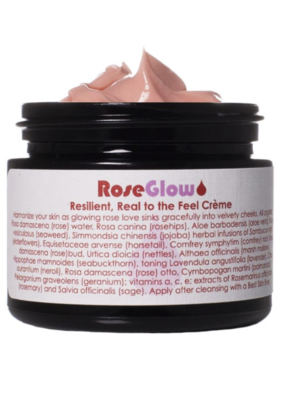 Living Libations RoseGlow Face Creme