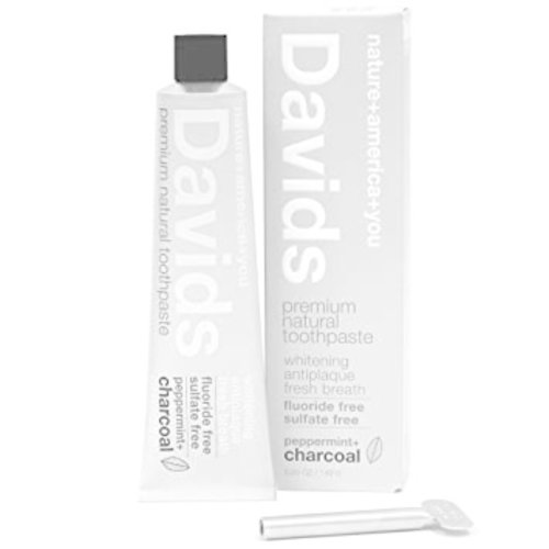 David's Toothpaste David's Natural Toothpaste + Charcoal