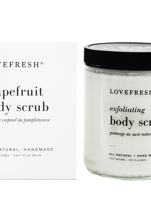 LoveFresh Grapefruit Body Scrub