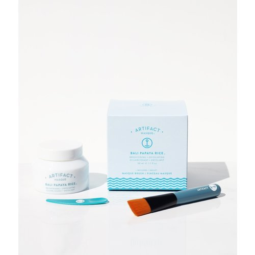 Artifact Skin Co. Bali Papaya Rice Masque + Brush Kit