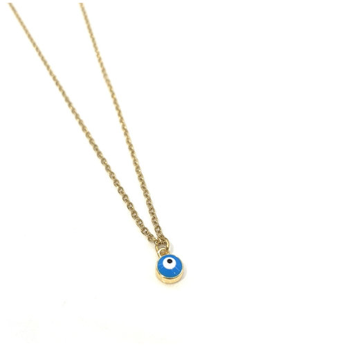 Atelier SYP 18K Blue Eye Necklace
