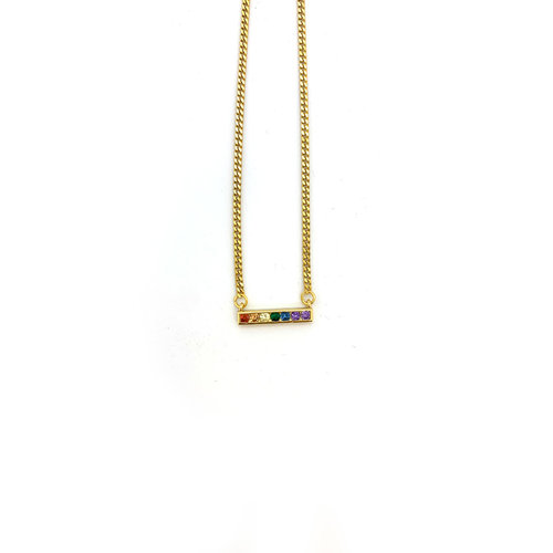 Atelier SYP Rainbow Bar Necklace