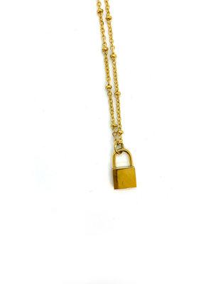 Atelier SYP Lock Pendant Necklace