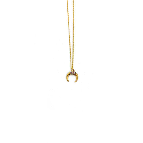 Atelier SYP Crescent Moon Necklace
