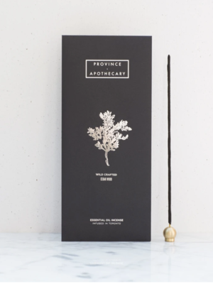 Province Apothecary Cedarwood Essential Oil Incense