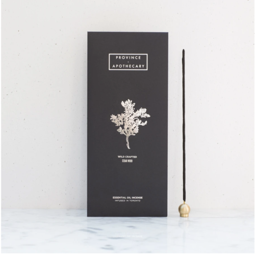 Province Apothecary Cedarwood Incense