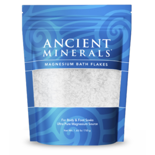 Ancient Minerals Magnesium Bath Flakes 1.65lb