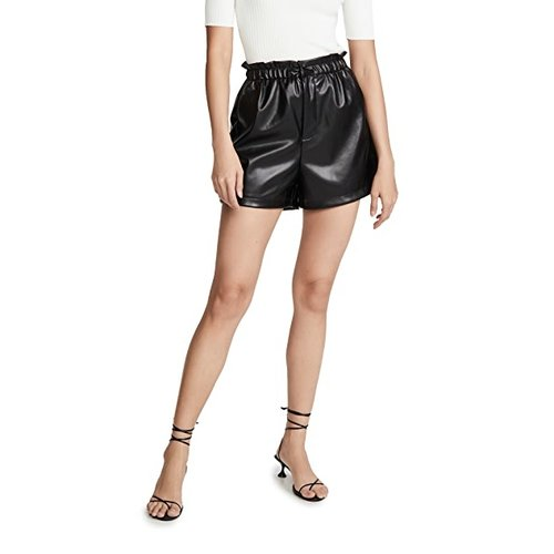 BB Dakota Vegan Leather Shorts