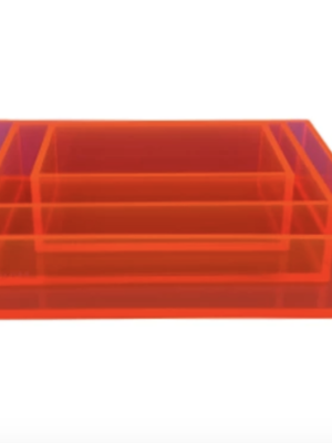 Coloré Tray Set - Coral
