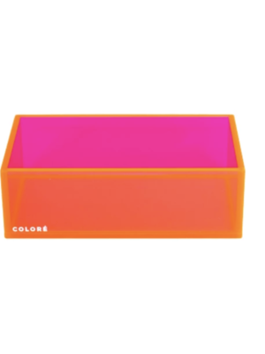 Coloré Small Tray - Coral