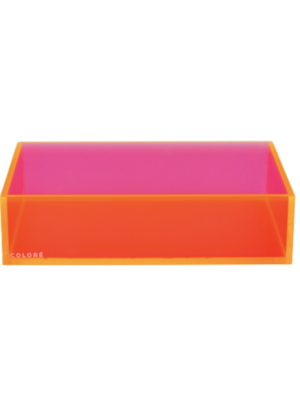 Coloré Medium Tray - Coral