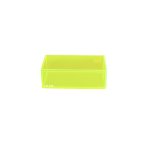 Coloré Large Tray - Neon Yellow