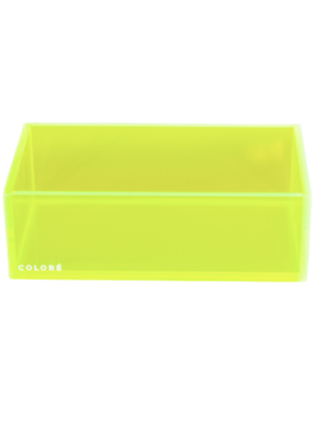 Coloré Small Tray - Neon Yellow