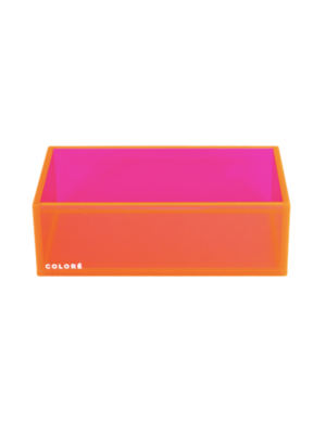 Coloré Medium Tray - Neon Pink