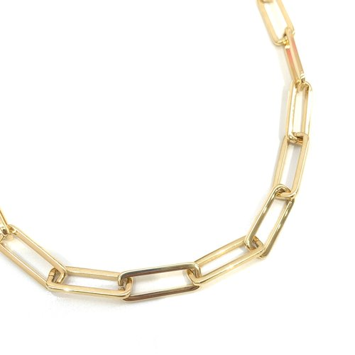Atelier SYP 18K Oversized Paperclip Chain