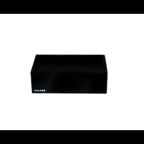Coloré Small Tray - Opaque Black