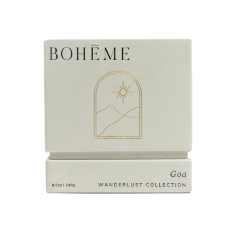Bohēme Fragrances Goa Candle