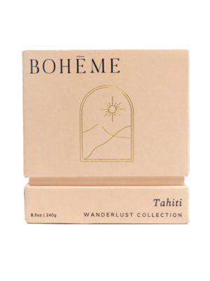 Bohēme Fragrances Tahiti Candle