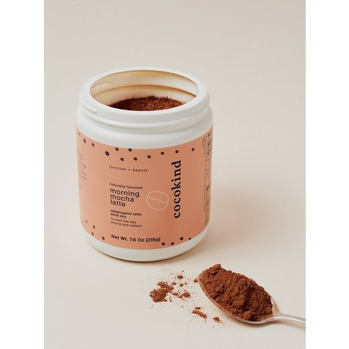 Cocokind morning mocha latte jar, 20 oz