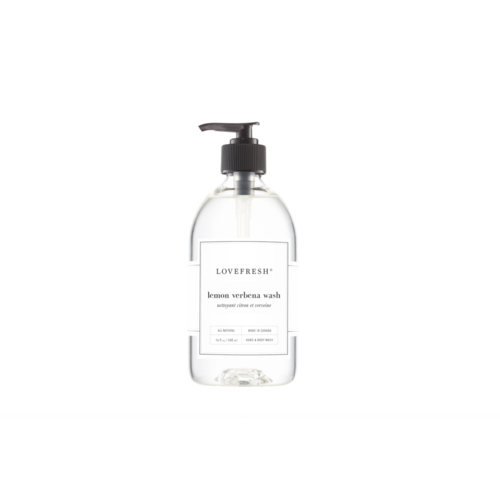 LoveFresh Lemon Verbena Hand & Body Wash