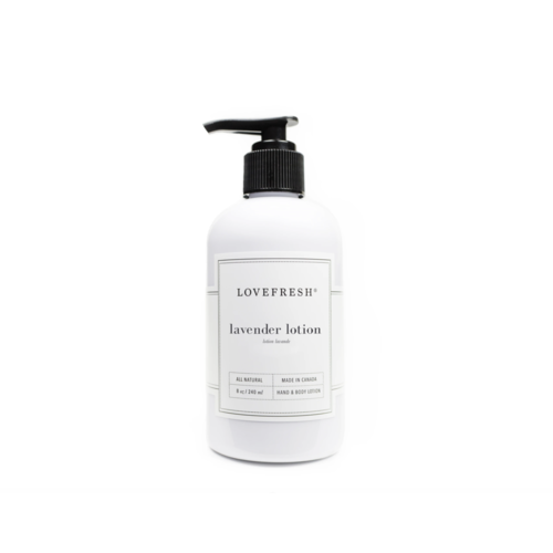 LoveFresh Lavender Hand & Body Lotion