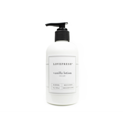 LoveFresh Vanilla Hand & Body Lotion
