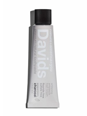 David's Toothpaste David's Natural Toothpaste Charcoal TRAVEL
