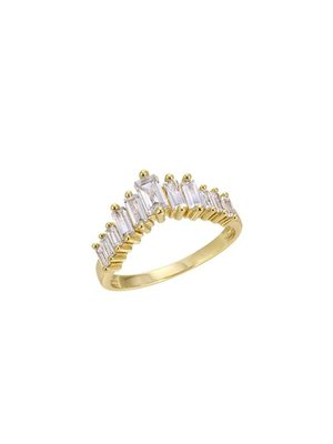 Lili Claspe Appex Baguette Ring