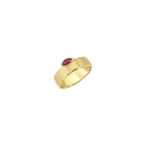 Lili Claspe Marquise Cigar Ring Smooth