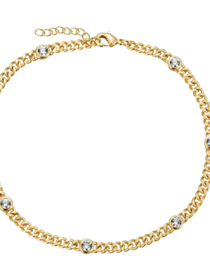 Lili Claspe Daisy Link Anklet
