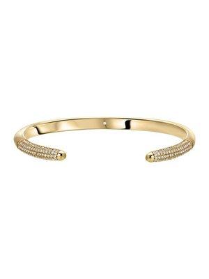 Lili Claspe Tusk Cuff Bracelet Pave