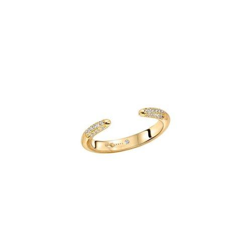 Lili Claspe Tusk Ring Pavé