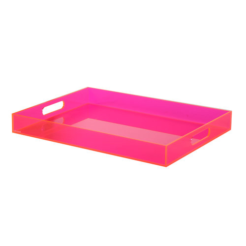 Coloré Extra Large Tray - Neon Pink