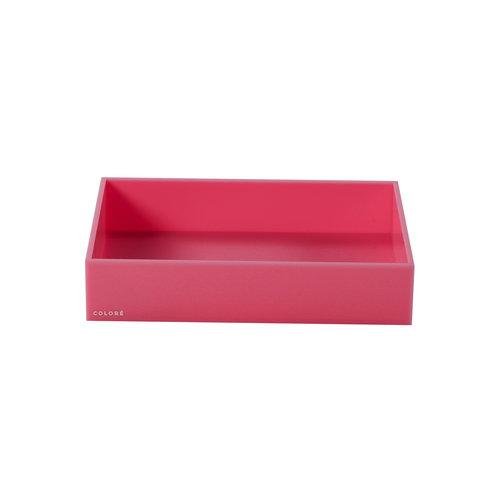 Coloré Large Tray - Pink