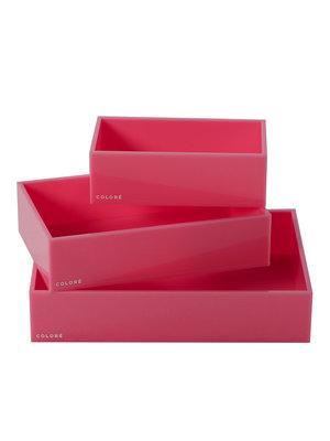 Coloré Tray Set - Pink
