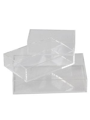 Coloré Tray Set - Clear